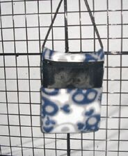 Navy Skull Camo* 7 x 9 bonding pouch with neck strap