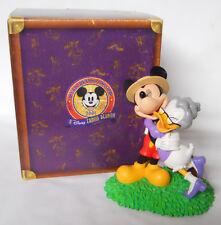 2001 Walt Disney Disneyana Convention Figurine-Family Reunion-Mickey & Daisy