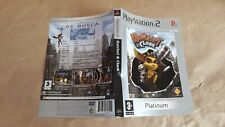 RATCHET & CLANK PLATINUM PLAYSTATION 2 PS2 - PAL ESPAÑA - CARATULA