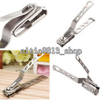 1X Stainless Steel Finger Toe Nail Clipper Cutter Trimmer Manicure Pedicure Tool