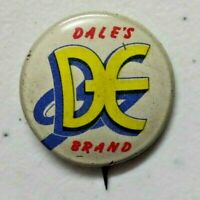Vintage 1953 Dale's Brand Post's Grapenut Flakes Pinback Button 7/8""