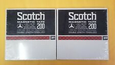 """Scotch 200 Magnetic Tape - 1/4""""x2400', 7"""" Reel - Sealed"""