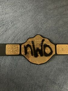 Authentic nWo WCW Championship Replica Belt Official WWE Adult (No Dust Cover)