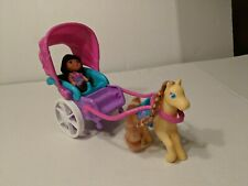 Dora The Explorer Horse-drawn Carriage With Doll