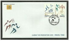 Albania 2013. The Mediterranean Games 2013 - Mersin, Turkey. Sport. FDC Set MNH