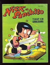 NICK et PANCHITO n°13  LELLBACH / PESCH    EO 1965  Editions Mondiales