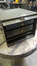 Vintage industrial Metal  Small Parts Cabinet Tool Jewelry Craft Box Old