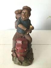 Tom Clark Gnome-Super Chief Train Engine Figure Figurine~Cairn Studios 5191 Vtg