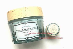 Benefit Total Moisture Facial Cream 48.2g It's Potent Eye Cream Mini 3g