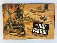 The Rat Patrol Model Kit 1967 Aurora original with Box