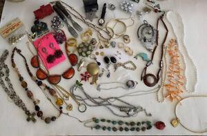 Vtg Antique Junk Drawer Lot Collectibles Smalls Good Lot