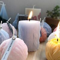 3D Silicone Aroma Candle Mold DIY Candle Gypsum Clay Making Cake Chocolate Decor