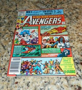 AVENGERS ANNUAL # 10 MINT! SS AL MILGROM  NEWSSTAND! HIGH GRADE! 1981