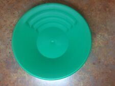 """Official Pan Of The GPAA Gold Prospectors The Gold Catcher II 11"""" Green Gold Pan"""