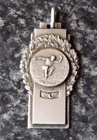 Long Jump - Vintage 1930's Art Deco Silver Medal