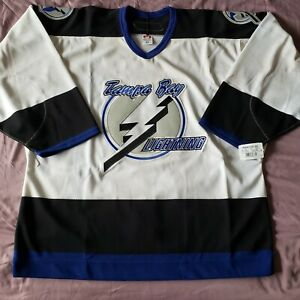 Tampa Bay Lightning 2006-2007 Authentic Team Issued Away Reebok Jersey NWT