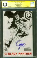 Black Panther 5 CGC SS 9.8 Jim Steranko Captain America Variant Avengers 10/16
