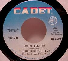 "DAUGHTERS OF EVE  - Social Tragedy  (Cadet) - '68 girl garage 7""/45 - LISTEN"
