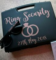 New year offer :) Ring security box , ring pillow alternative , wedding box