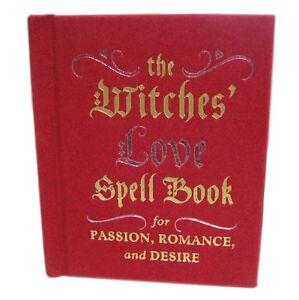 Mini Hardback The Witches' Spell Book Passion, Romance & Desire