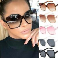 Sonnenbrille Damen Oversized Brille Square Sonnenbrillen Sunglasses UV400 J7N3