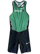 Nike Elite Pro Oregon Track Project Sponsored Athlete Running Sprint Speedsuit L