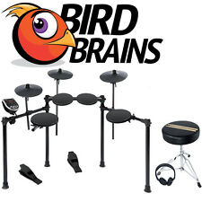 Alesis Burst Drum Kit Electronic Drum Set E-Kit + FREE Accessories (NEW)