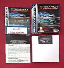 Top Gear GT Championship – NINTENDO - GBA - GAME BOY - ADVANCE - MUY BUEN ESTADO
