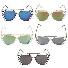 Unbranded Designer Mirrored Sunglasses for Women