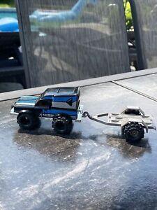 Vintage Schaper Stomper Black Datsun Workhorse winch trailer Tires RARE 🔥🔥
