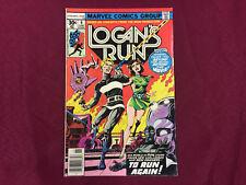 Logans Run #6 First Solo Thanos in 7.0 FN/VF Starlin Goodness! B@@yah!