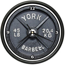 WEIGHTLIFTER Wall Clock gym trainer weight lifter gift
