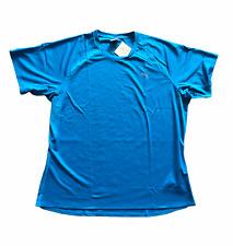 PUMA Men's Running T-Shirt Logo Essential S/S T-Shirt - Brilliant Blue - New