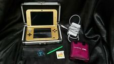 Nintendo 3DS XL Zelda Limited Edition Gold System Adapter + Ocarina of Time Game