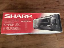 SHARP VC-H982U HI-FI STEREO VHS VIDEO CASSETTE BRAND NEW VCR