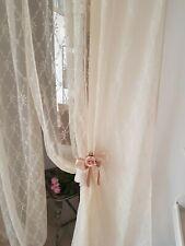 Tenda Tende Arredamento Shabby Chic Camera da letto Sala Soggiorno in Beige