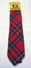 Royal Stewart -100% Wool Traditional Tartan Neck Tie