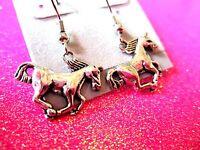 Horse Dangle Earrings