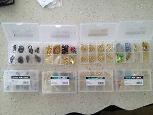 BARGAIN JOB LOT OF PICTURE HANGING / HOOK / E CLIP RINGS / NAIL AND HANGER KITS