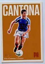 2017 Panini Nobility Soccer Bronze Eric Cantona #8/20