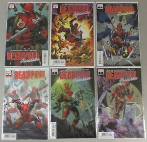 Deadpool Assassin #1 2 3 4 5 6 Complete Set Run Lot 6 Comics NM/VF Cable Marvel