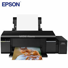 Epson L805 Continous Ink Supply System Inkjet Printer w 70ml x 6 Ink Bottles
