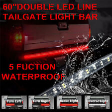 "Fit Ford F150 60"" Tailgate LED Strip Bar Truck Stop Brake Turn Signal Tail Light"