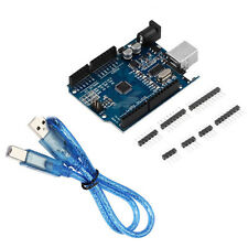 BUENO Arduino Compatible UNO R3 ATmega328P CH340G+USB Cable Modelo Mejorado 1pc