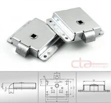 2x Federriegel Verschlussriegel Türriegel Fallenschloss VK 8mm Stahl 1C34-U01