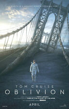 Oblivion  - original DS movie poster - D/S 27x40  With Tom Cruise