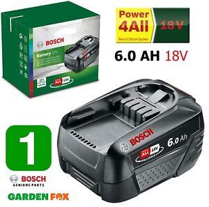 new Bosch GREENTOOL 18V 6.0AH PBA Lithium ION Battery 1600A00DD7 3165140843010