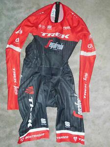 Rarität Sportful Team Trek Segafredo Skinsuit Aero TT Body Zeitfahranzug