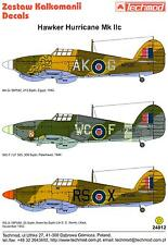 Techmod Decals 1/24 HAWKER HURRICANE Mk.IIc British WWII Fighter