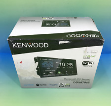 Kenwood DDX8706S DVD Touchscreen Receiver w/ Apple CarPlay & Android Auto #U3254